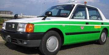 グリーンを基調にオシャレな車